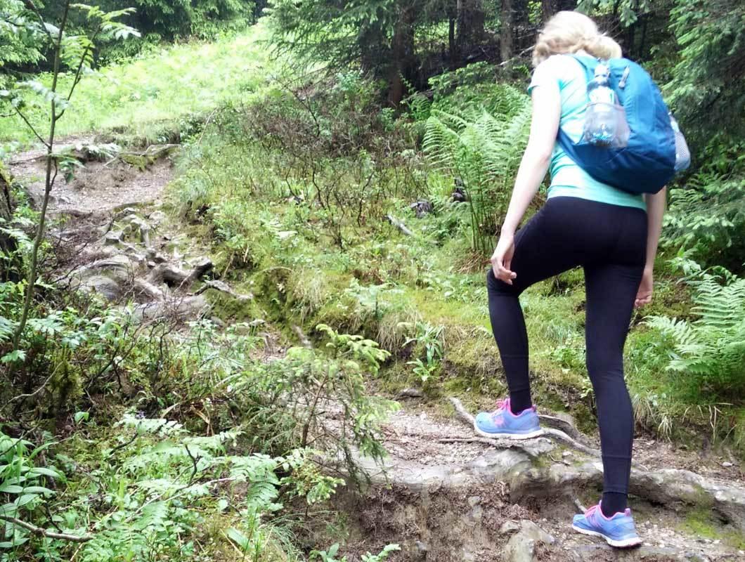 Wandern macht den Po knackig