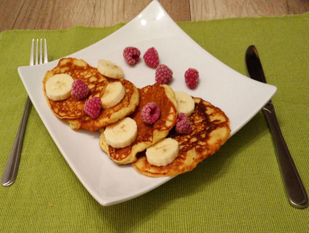 Protein Pancake Rezept mit Banane