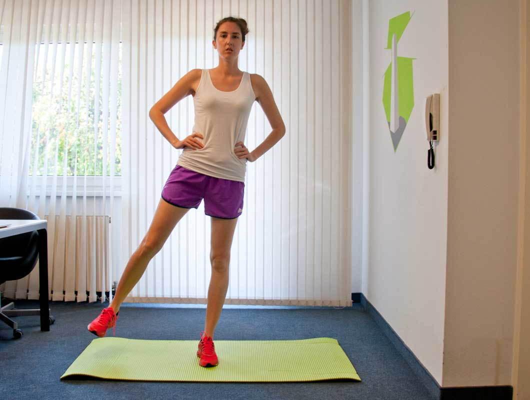 Oberschenkel, Po, Workout