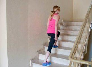 Treppensteigen Po Übung