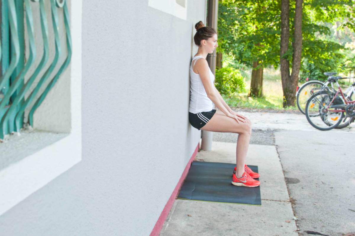 Schlanke Beine Training