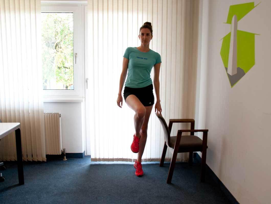 Eine super Übung für schlanke Waden