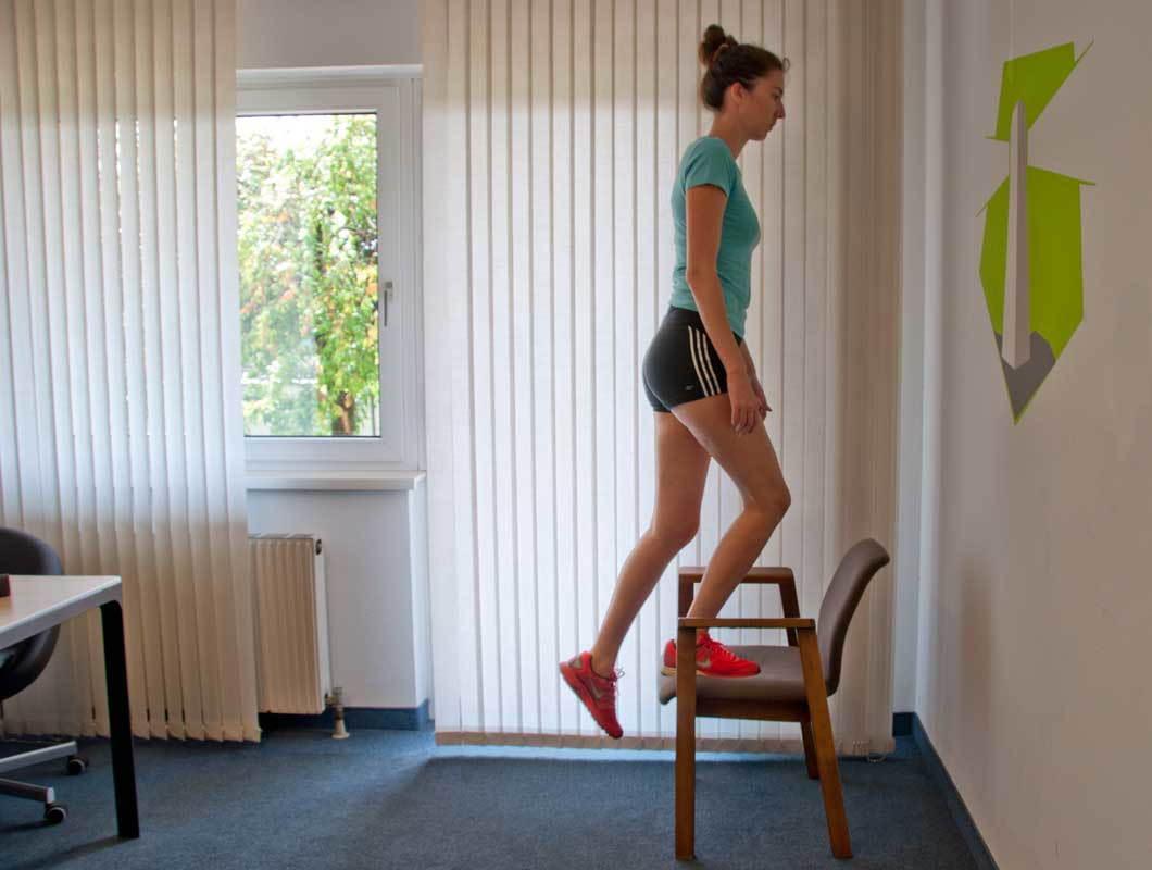 schlanke Beine, schlanke Waden, Bein-Übungen