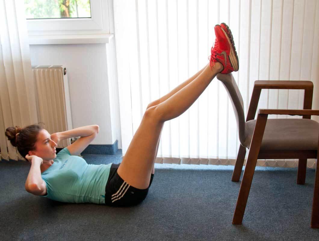 übungen Mit Stuhl