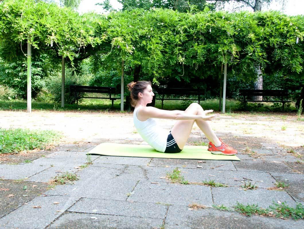 Sit up Bauchmuskelübung