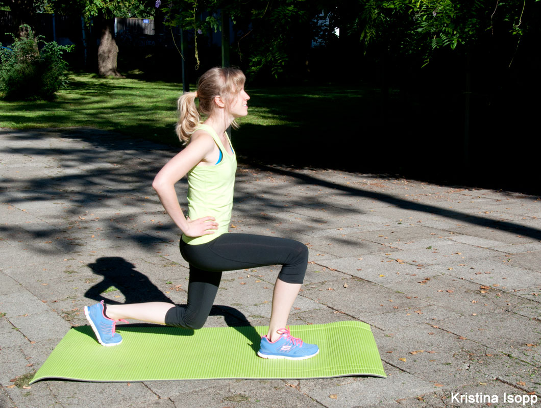 Ausfallschritt Lunges für schlanke Beine