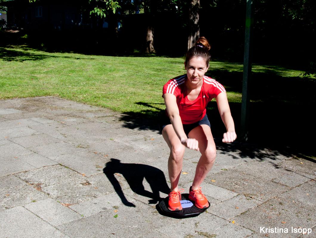 Abnehmen an den Beinen mit Training