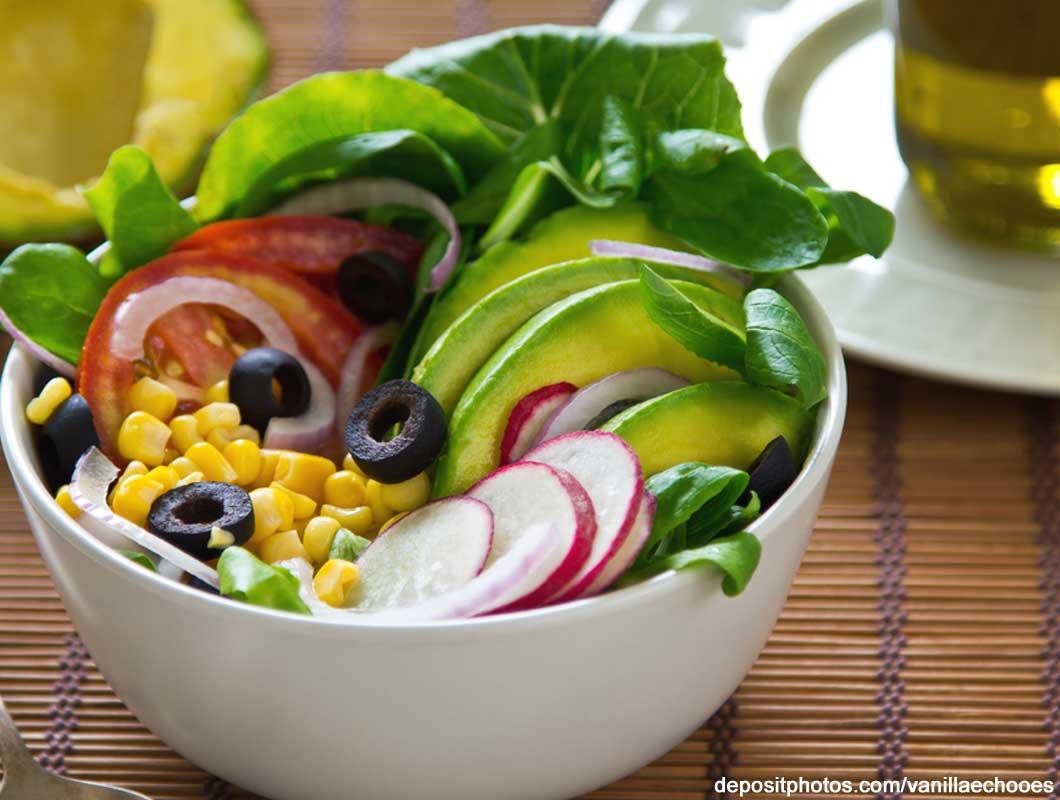 Butterfrucht, Hass Avocado Salat