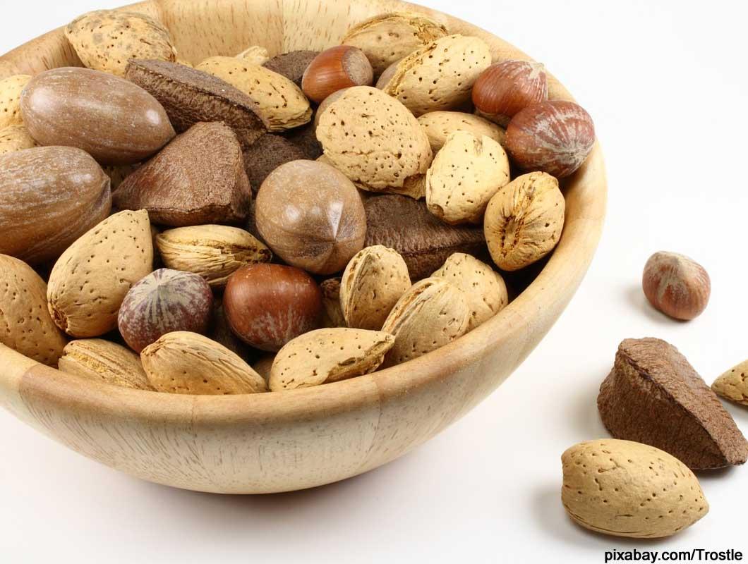 Basische Lebensmittel Nüsse, Gewicht abnehmen