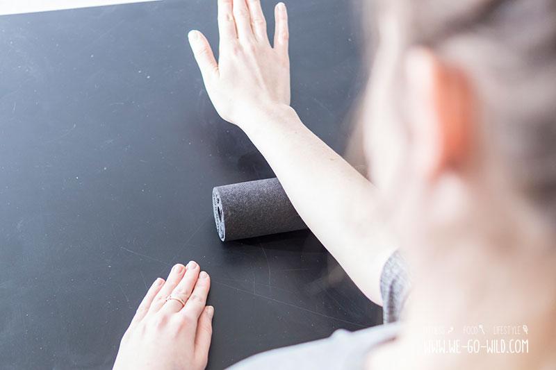Blackroll Übungen für die Unterarme
