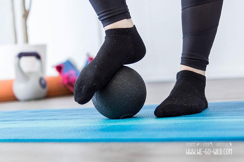Blackroll Übungen für die Füße