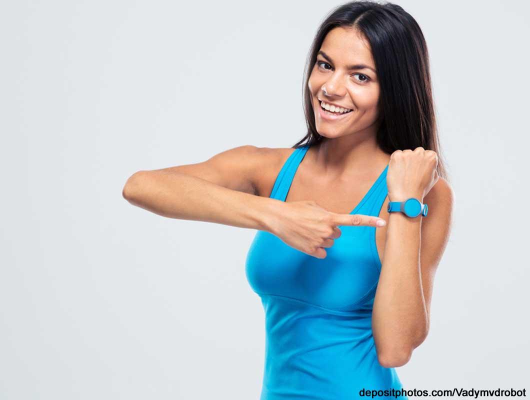 Mit Fitnesstracker trainieren