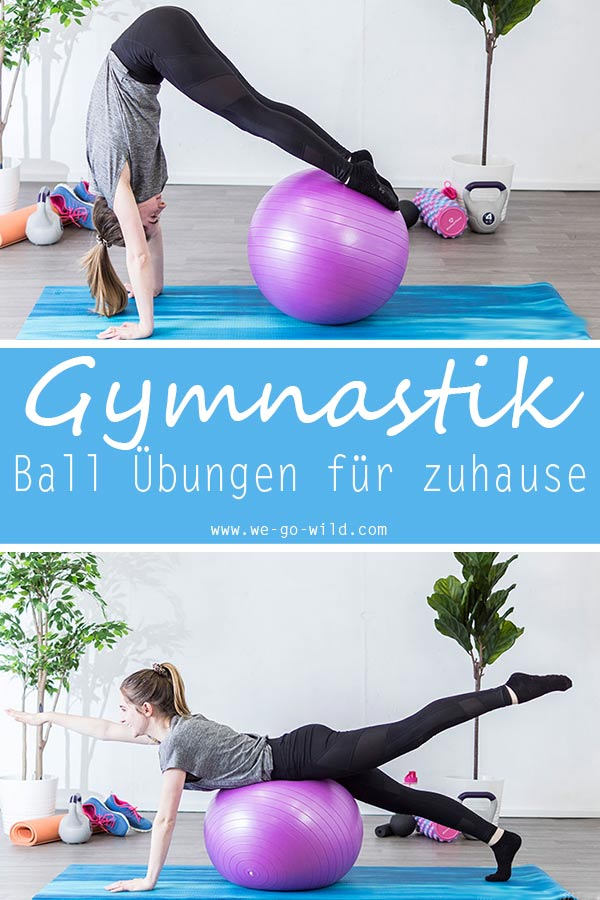 Beliebt Die 13 besten Übungen mit Gymnastikball für zu Hause DH08