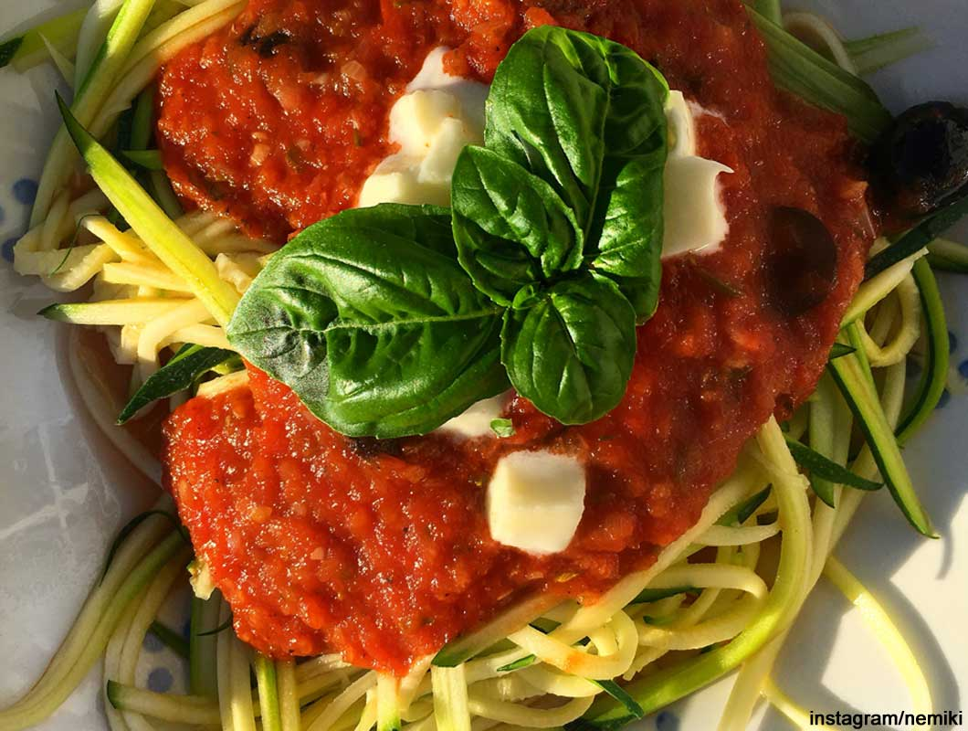 Low Carb Spaghetti, Low Carb Nudeln