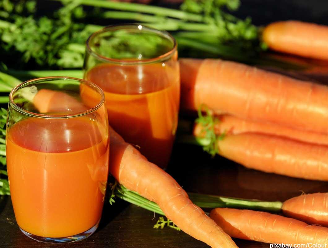 Anti Aging Lebensmittel Möhren Karotten