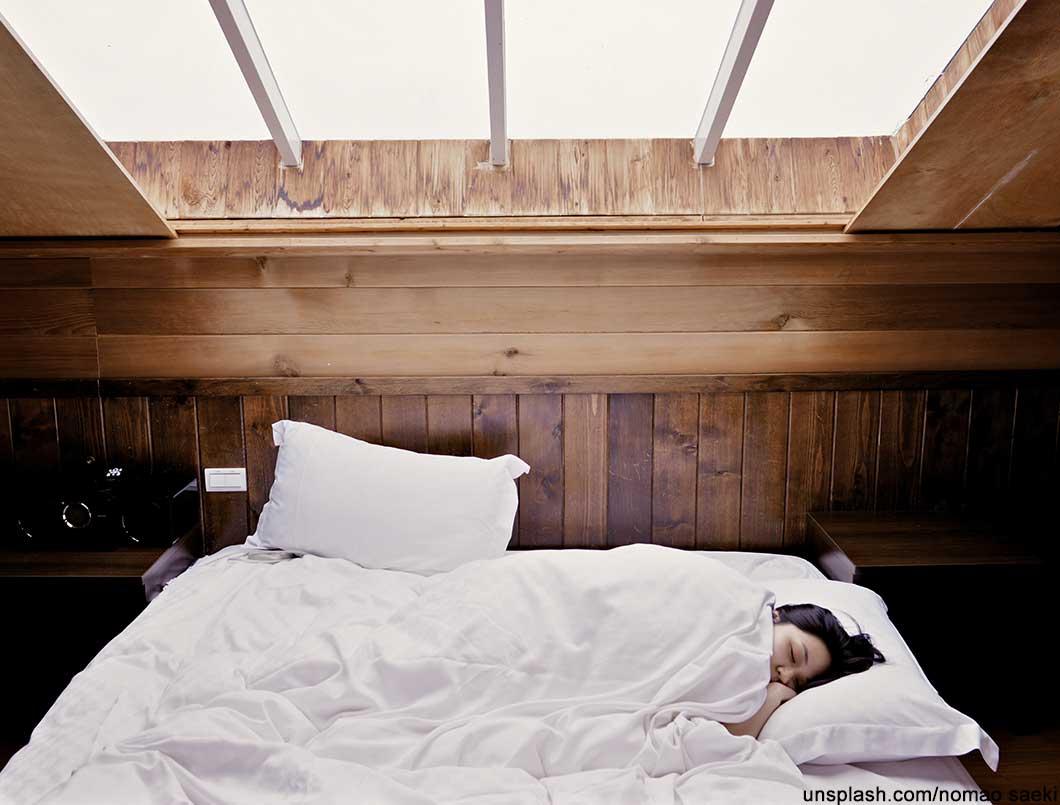 Schlaf Killer ausschlafen, nach dem laufen, immer kalt