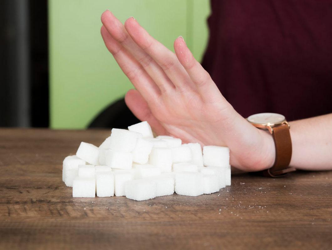 keinen zucker mehr essen