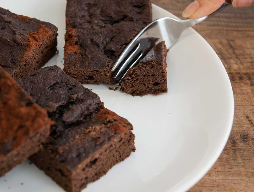 protein brownies ohne zucker mit apfelmus