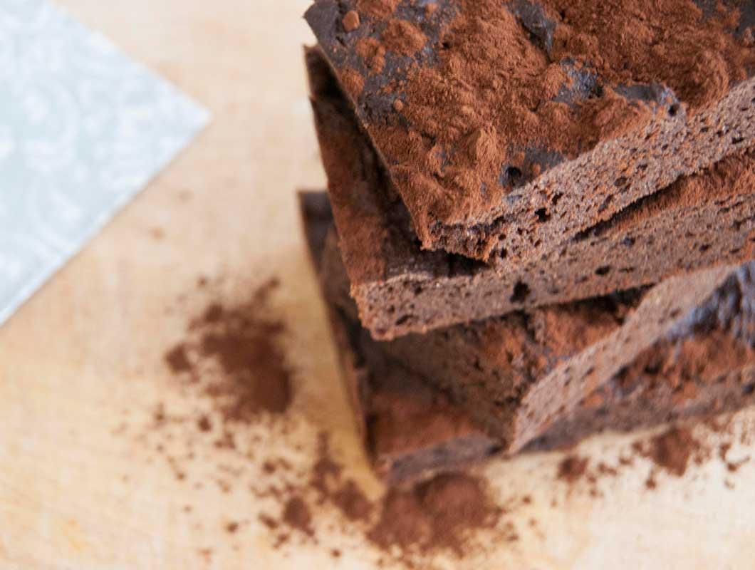 2x Saftiges Protein Brownies Rezept Mit Bohnen Und Apfelmus