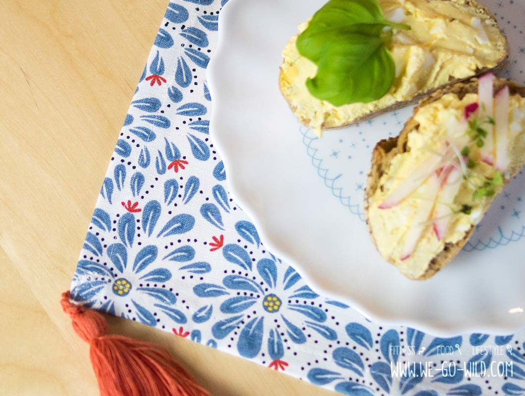 Osterbrunch Rezepte: Quark Aufstrich mit Ei