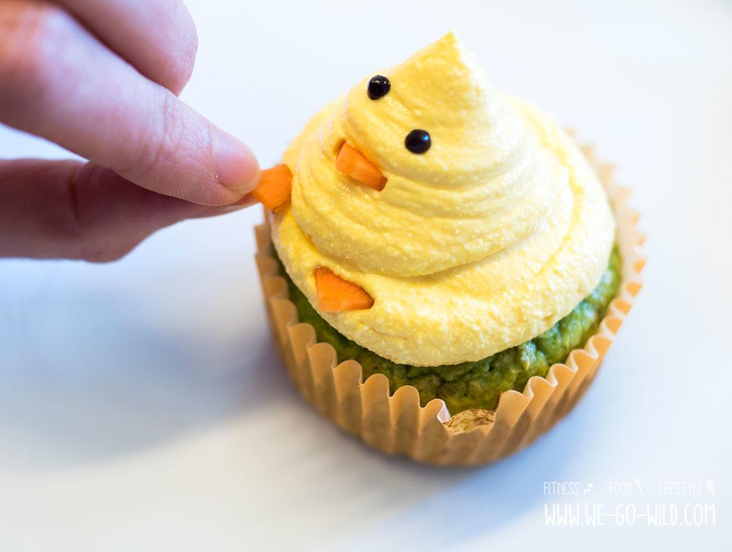 oster-cupcakes verzieren ohne zucker