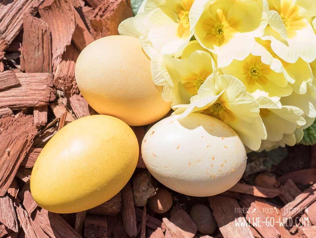 Osterbrunch Rezepte: Ostereier natürlich färben