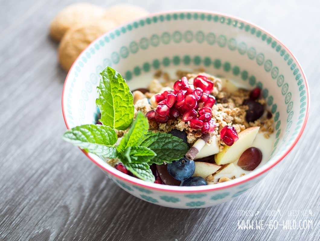 gesundes frühstück müsli