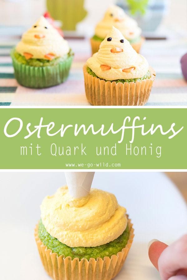 Ostermuffins backen ohne Zucker