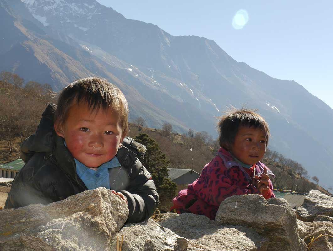nepal trekking everest basecamp trail angels