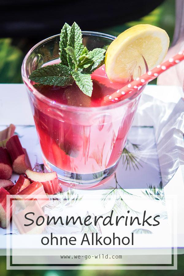 7 super erfrischende Sommergetränke ohne Alkohol - WE GO WILD