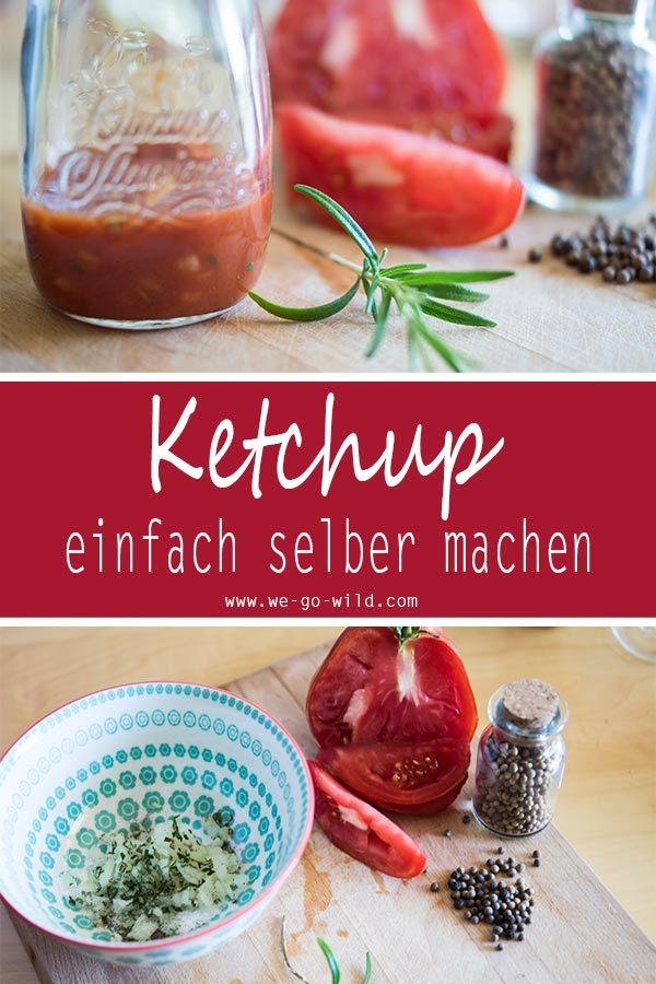 ketchup selber machen ohne zucker schnelles tomatenketchup rezept. Black Bedroom Furniture Sets. Home Design Ideas