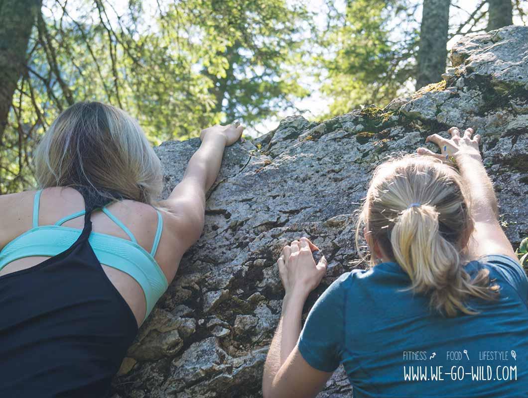 Outdoor Workout klettern