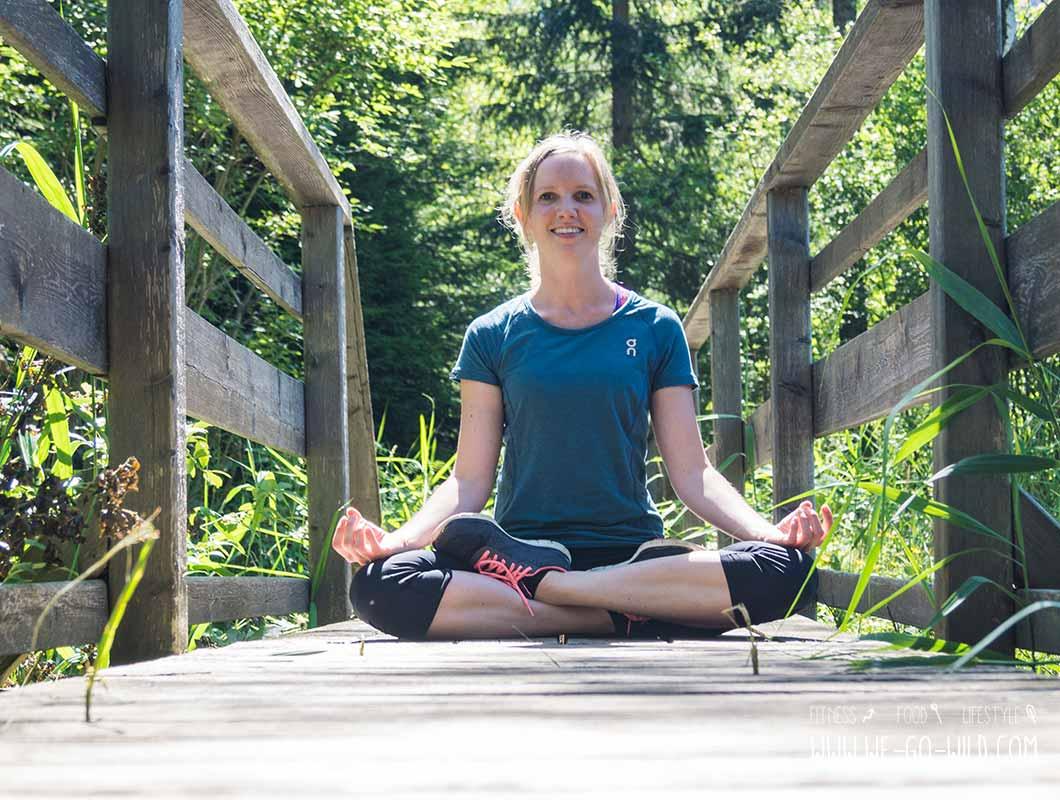 Outdoor Workout meditieren