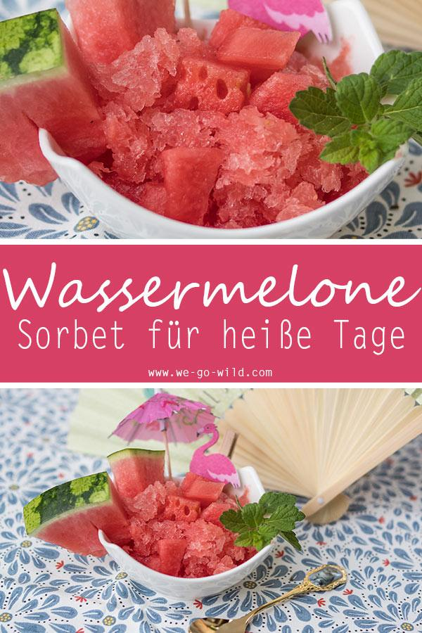Wassermelone Rezept Sommer Dessert