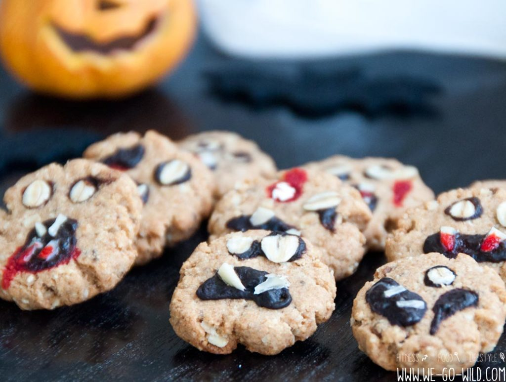 Halloween Kekse backen