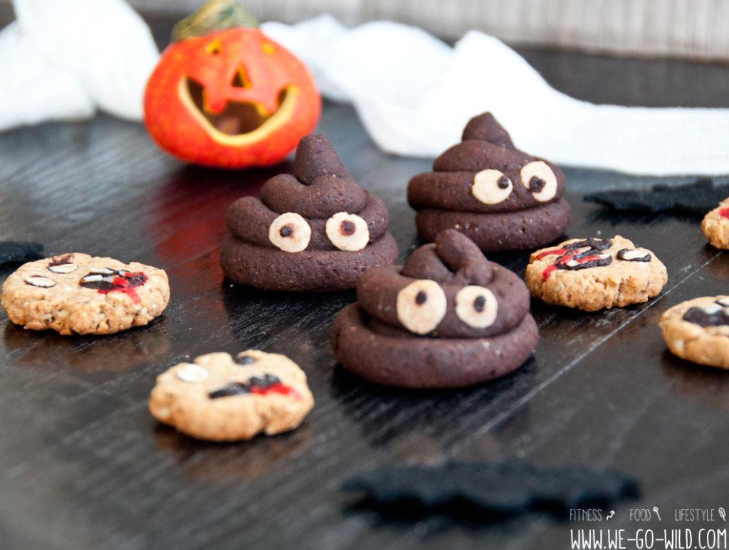 halloween kekse: 3 schaurig lustige plätzchen für die party