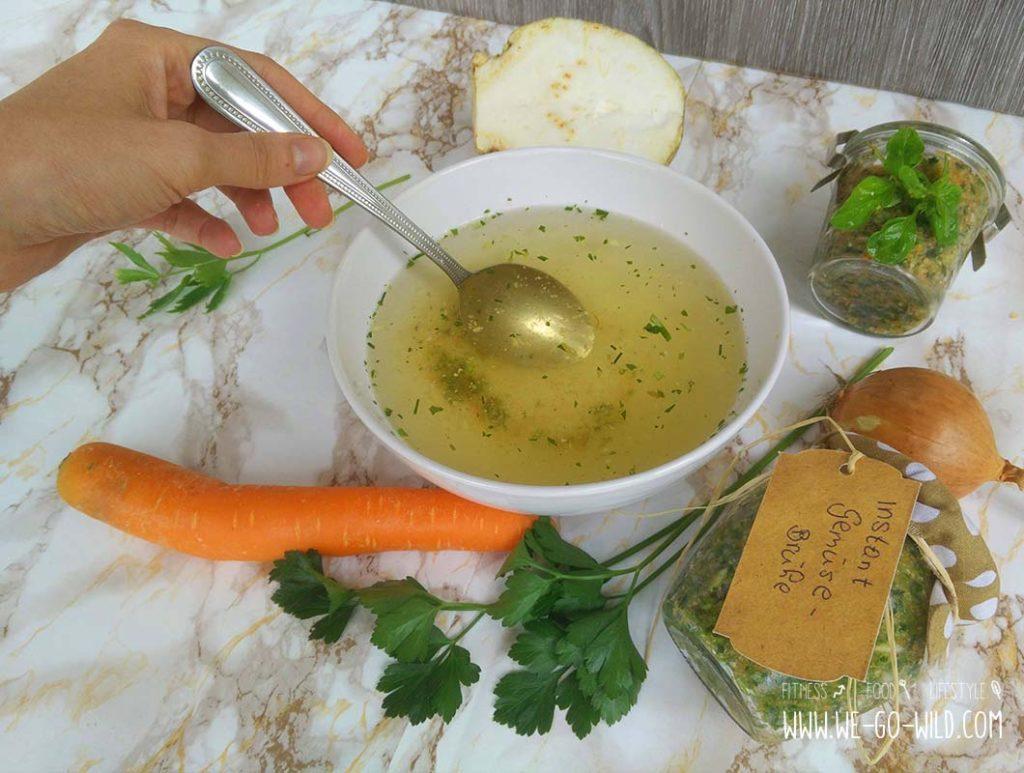 Instant Gemüsebrühe selber machen