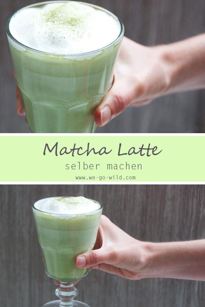 Schnelles Matcha Latte Rezept