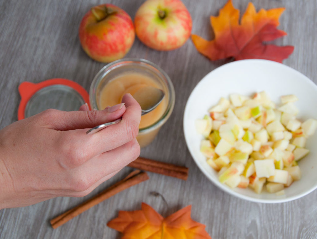 apfelmus kochen und haltbar machen