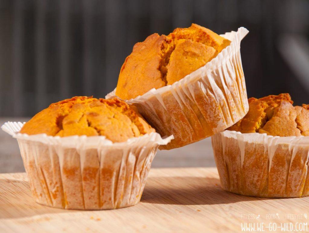 Kürbis Muffins vegan