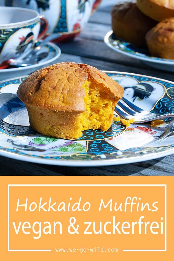 Küribs Muffins vegan mit Hokkaido