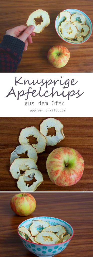 Apfelchips selber machen im Backofen