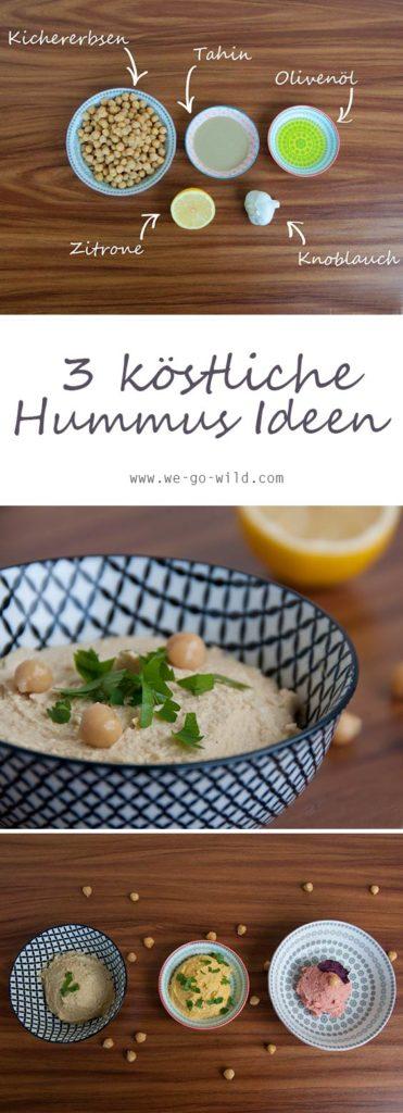 3 köstliche Hummus Rezepte