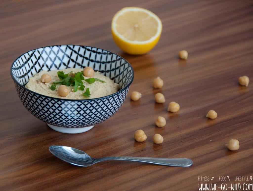 Anleitung für selbstgemachtes Hummus Rezept