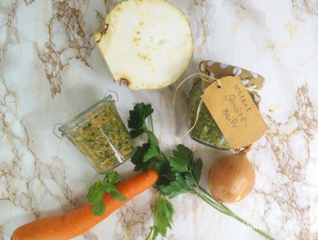 Anleitung für Instant Gemüsebrühe selber machen