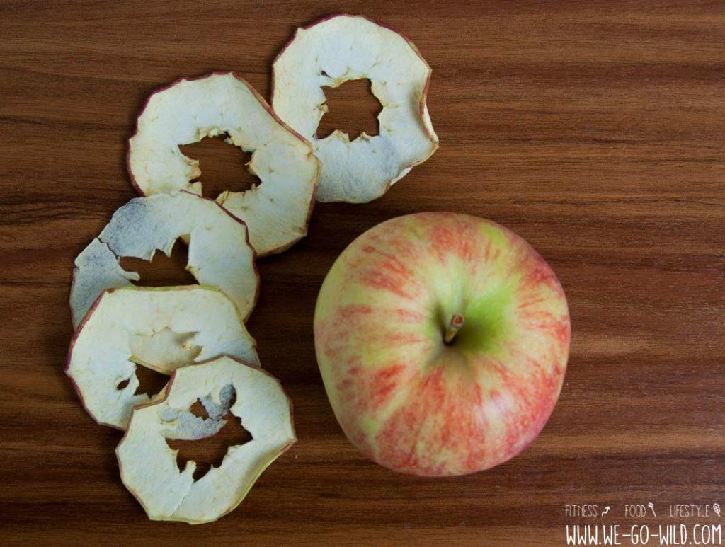 Apfelchips selber machen im Ofen