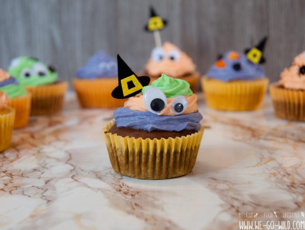 Halloween Muffins ohne Zucker