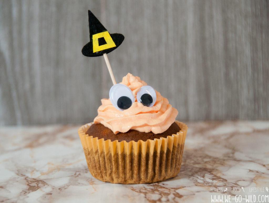 Halloween Muffins Gehirn