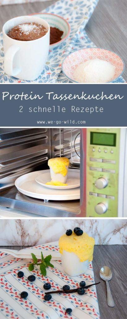 2 Minuten Protein Tassenkuchen Aus Der Mikrowelle