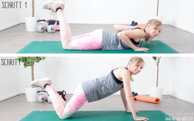 14 effektive Übungen gegen Winkearme: Bye Bye Bingo Arms!